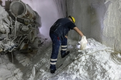 operai in miniera