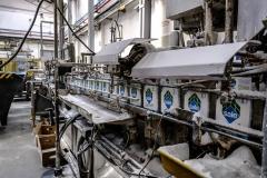 linee di produzione e impacchettamento dello stabilimento