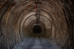 galleria d'ingresso alla miniera
