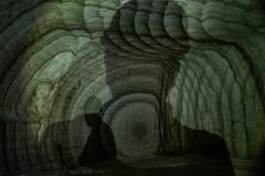 pareti della miniera
