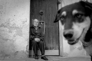 Palermo 2010 - old man and a dog © Marco Salvadori